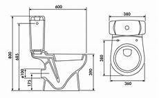 dimension toilette standard standard toilet dimensions