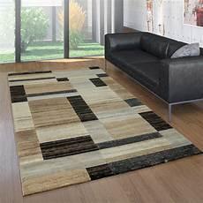 teppich muster designer teppich geometrische muster braun teppich de