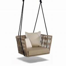 bitta lounge swing chair by kettal