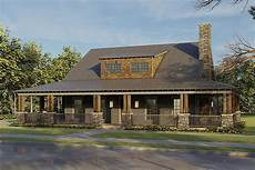rustic house plans with wrap around porch rustic 2 bed country home plan with wrap around front