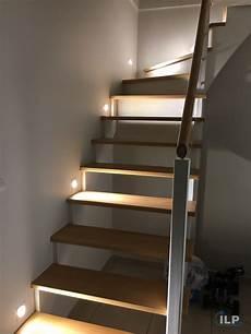 eclairage led dans un escalier ilp pro