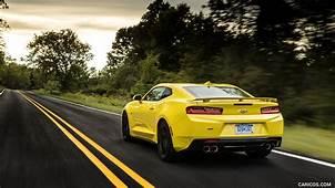 2016 Chevrolet Camaro SS Yellow  Rear HD Wallpaper 56