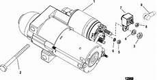 Mercruiser 4 3l Efi Tbi Gm 262 V 6 Starter Motor Parts