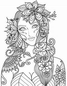 Ausmalbilder Erwachsene Blumen Pdf Pin Auf Anime