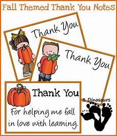 Thanksgiving Note Card For Teachers Template by Free Fall Thank You Notes For Teachers Best Of 3