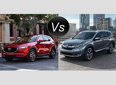 2017 Honda CR V vs 2017 Mazda CX 5   Worlds Apart