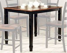 standard height counter height and bar height tables standard furniture counter height table brentwood st 11136