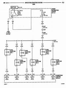 2001 jeep wrangler fuel wiring diagram fuel injector sequence jeep forum