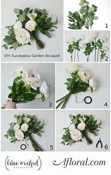 diy eucalyptus bouquet in 2019 wedding bouquets diy