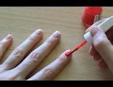 wie lange muss nagellack trocknen lassen