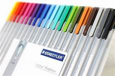 new product preview staedtler triplus fineliner pens