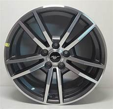 18 quot ford mustang black chrome wheels rims tires factory