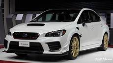 subaru 2020 sti 2020 subaru wrx sti s209 up look 2019 naias