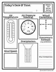 weather worksheets for elementary school 14545 daily weather records 3 6 teaching weather weather science weather lesson plans