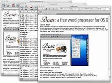 free word processor for mac os x bean digital conqueror