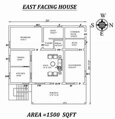 east facing house vastu plan 39 x39 amazing 2bhk east facing house plan as per vastu