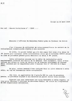 Modele De Lettre Pour Contester Un Pv Modele De Lettre Type
