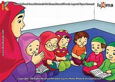 30 Gambar Kartun Anak Sedang Belajar Di Kelas Gambar