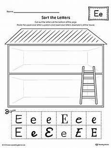 identifying letter e worksheets 24108 sort the uppercase and lowercase letter e worksheet letter t worksheets letter p worksheets