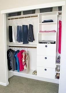 Bedroom Closet Closet Organization Ideas by Diy Closet Organizing Ideas Projects Bedroom Ideas