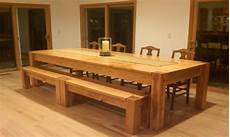 Kitchen Bench Size by Wooden Bench Oversized Kitchen Table With