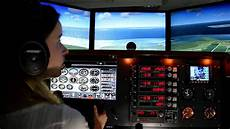 motion cessna flight simulator