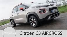 2017 Citroen C3 Aircross Puretech 110 Eat6 Fahrbericht