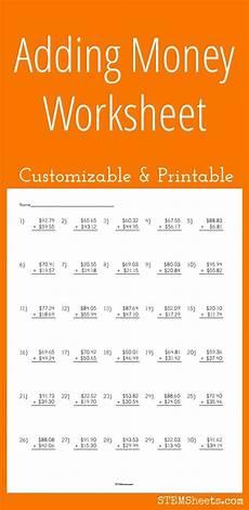money worksheets decimals 2112 adding money worksheet customizable and printable money worksheets adding money printable