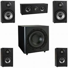 audio system subwoofer new 5 1 surround sound home theater speaker system w 10