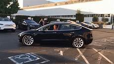 production tesla model 3 of production tesla model 3 gives best view