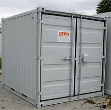 Lagercontainer 10 3m Neu Werkstatt Grey Container