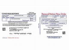 consumer reports renewal customer care