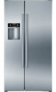 the new side by side bosch refrigerator