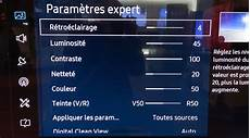 Reglage Tv Samsung 4k