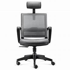intey chaise de bureau rotative fauteuil en maille si 232 ge