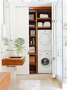 geschickt die waschmaschine im badezimmer verstecken bad