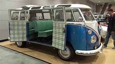 1966 volkswagen t1 samba exterior and interior retro