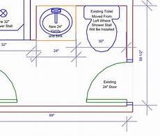 abstand wc wand toilet door clearance door clearance wheelchair