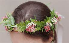 hair wreath image polka dot bride