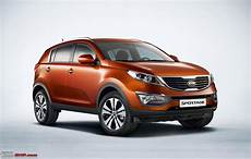 Kia Sportage Suv Preview Team Bhp