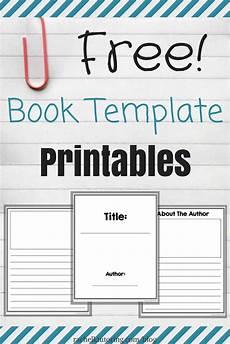 free book template printables k tutoring blog