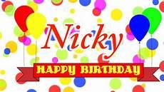 Bild Happy Birthday - happy birthday nicky song