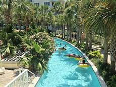 lazy river at destin west and bay resort fort