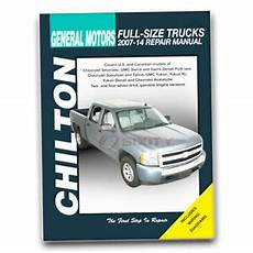 service and repair manuals 2007 chevrolet silverado 1500 electronic toll collection chilton repair manual for 2007 2014 chevrolet silverado 1500 shop service xe ebay