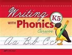 abeka cursive handwriting worksheets 21966 abeka product information writing with phonics k5 cursive
