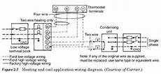Heating Furnace Wiring by Air Furnace Field Wiring Hvac Troubleshooting