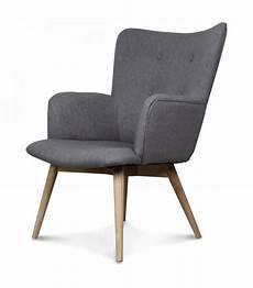 Fauteuil Gris Taupe Design Scandinave Wadiga