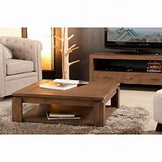table basse sous plateau 90 x 90 cm mindi meubles