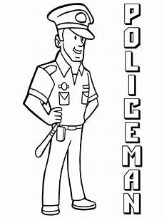 officer coloring pages free printable