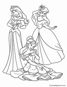 disney princesses 07 coloring page coloring page central